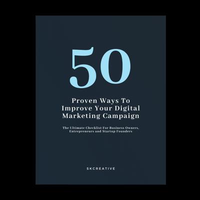 50 ways to improve digital marketing campaign