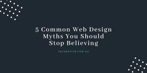 web design myths