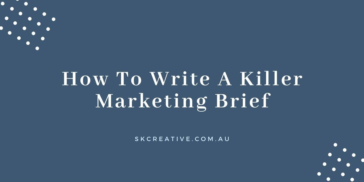 how to write marketing brief